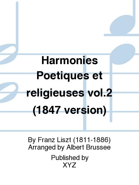 Harmonies Poetiques et religieuses vol.2 (1847 version)