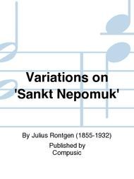 Variations on 'Sankt Nepomuk'
