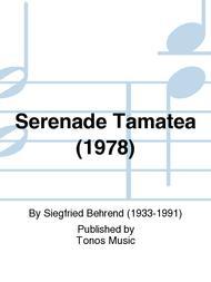 Serenade Tamatea (1978)