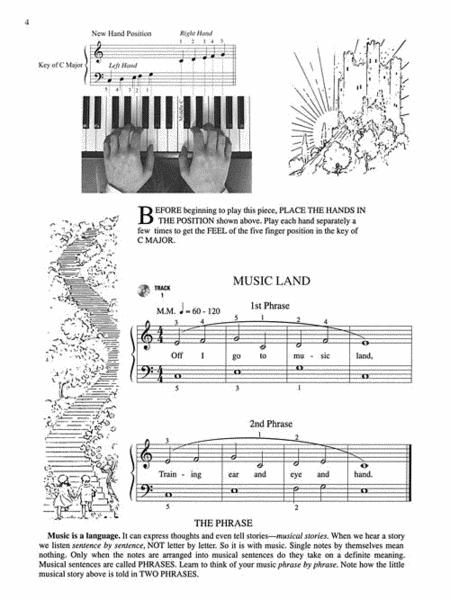 Sheet music: John Thompson's Modern Course for the Piano - The First