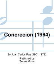 Concrecion (1964)