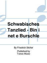 Schwabisches Tanzlied - Bin i net e Burschle