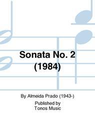 Sonata No. 2 (1984)