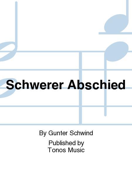 Schwerer Abschied