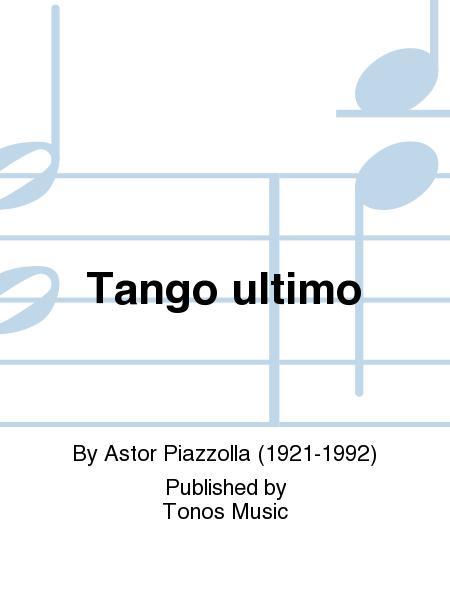 Tango ultimo