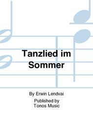 Tanzlied im Sommer