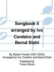 Songbook II arranged by Ivo Cordeiro and Bernd Stahl