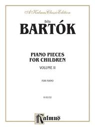 Piano Pieces for Children, Volume 2