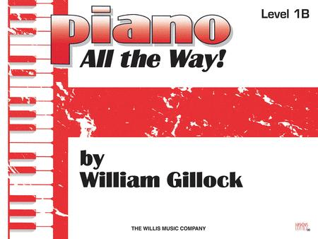 Piano - All the Way! - Level 1B