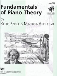 Fundamentals of Piano Theory - Level Ten