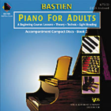 Bastien Piano For Adults - Book 2 (CD Only)