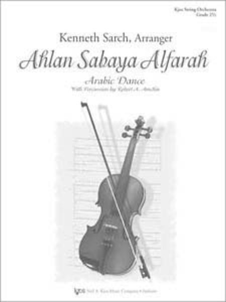 Ahlan Sabaya Alfarah - Score Sheet Music By Kenneth Sarch