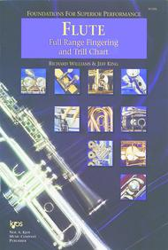 Foundations For Superior Performance Full Range Fingering and Trill Chart-Flute