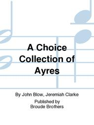 A Choice Collection of Ayres for the Harpsichord or Spinet. PF 201