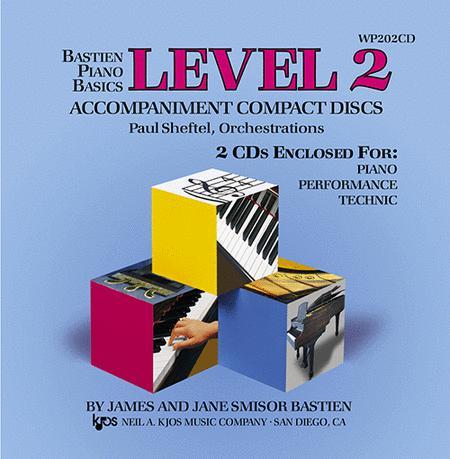 Bastien Piano Basics, Level 2, Piano/Performance/Technic (Accompaniment CDs)