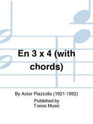 En 3 x 4 (with chords)