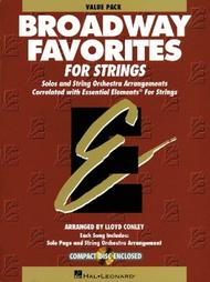 Essential Elements Broadway Favorites For Strings Value Starter Pak