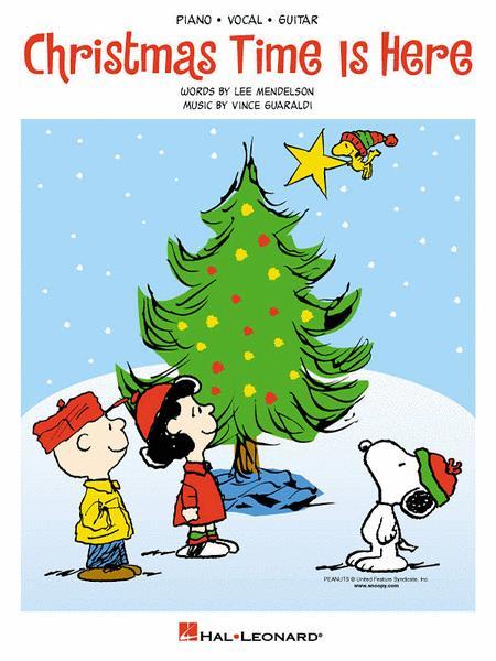 Vince Guaraldi Christmas.Christmas Time Is Here By Vince Guaraldi Single Sheet