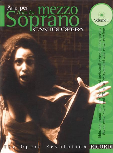 Cantolopera: Arias for Mezzo-Soprano - Volume 1