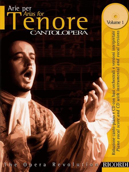 Cantolopera: Arias for Tenor - Volume 1