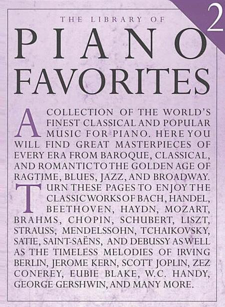Library Of Piano Favorites 2