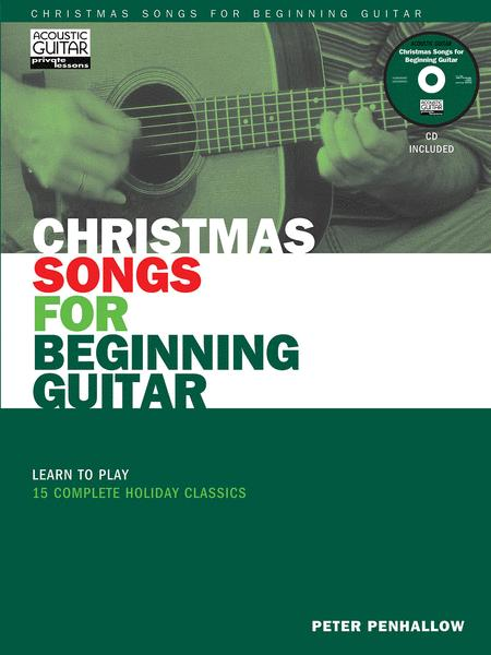 Christmas Songs for Beginning Guitar
