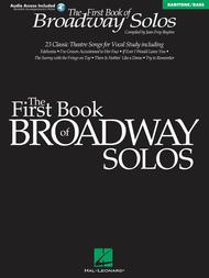 First Book Of Broadway Solos - Baritone/Bass