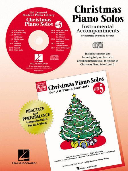 Christmas Piano Solos - Level 5 - CD