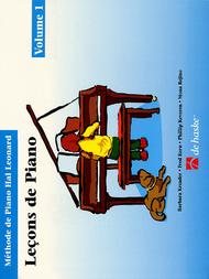Piano Lessons Book 1 - French Edition