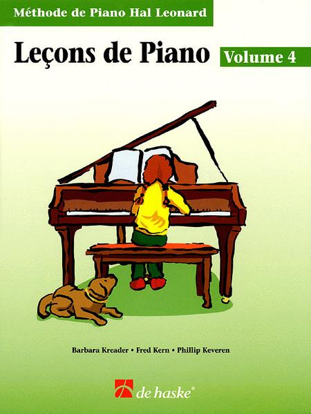 Piano Lessons Book 4 - French Edition