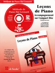 Piano Lessons Book 5 - CD - French Edition