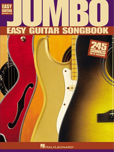 Jumbo Easy Guitar Songbook Sheet Music By Various - Sheet Music Plus