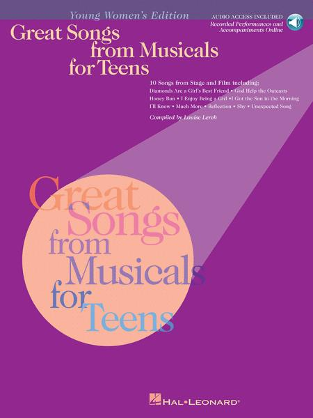 Great Songs From Musicals For Teens - Young Women's Edition