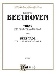 Ludwig van Beethoven: String Trios Comp. 3