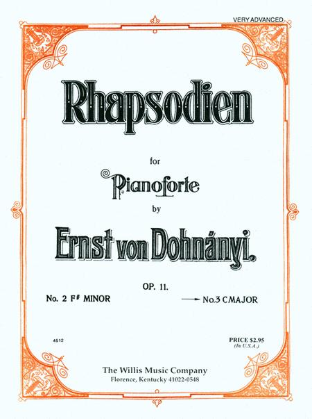 Rhapsodien in C Major, Op. 11, No. 3