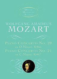 Piano Concerto No. 20, K466, and Piano Concerto No. 21, K467