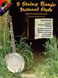 5 String Banjo Natural Style