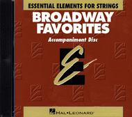 Broadway Favorites For Strings - Accompaniment CD Only