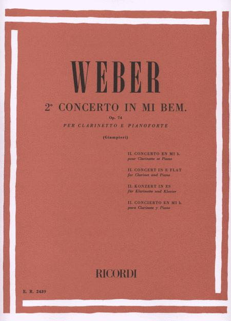 Concerto N. 2 In Mi Bem. Op. 74