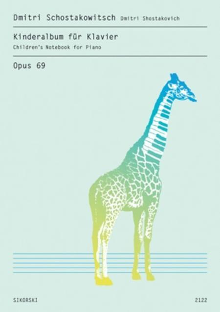 7 Children's Pieces, Op. 69