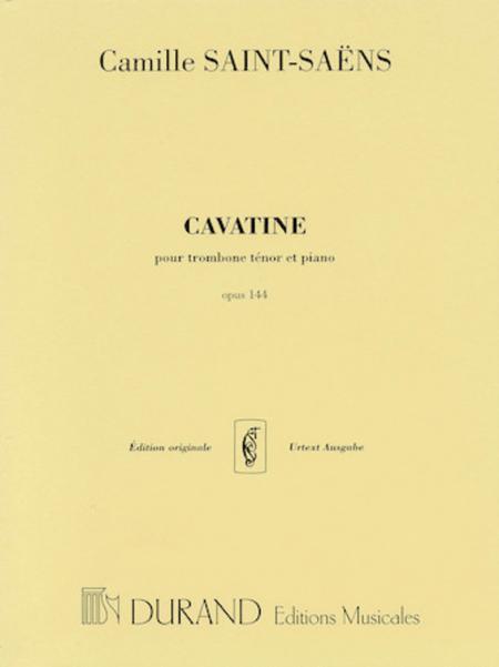 Cavatine, Op. 144