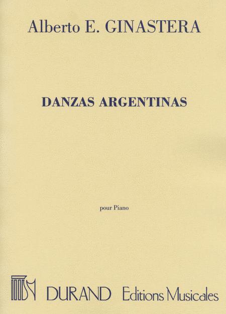 Danzas Argentinas pour Piano