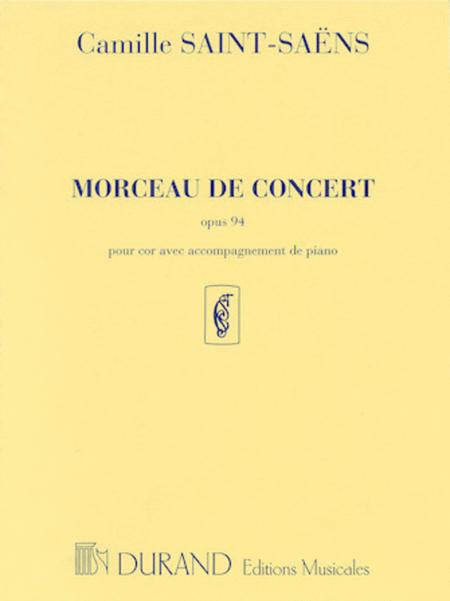 Morceau de Concert, Op. 94