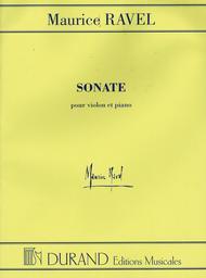 Sonate (Sonata) for Violin and Piano