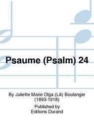 PSAUME 24 TENOR/4VX MIXTES/PIANO