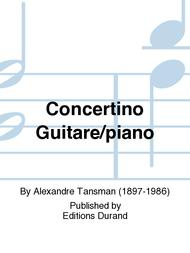 Concertino Guitare/piano