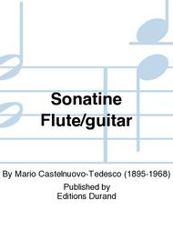 Sonatine Flute/guitar