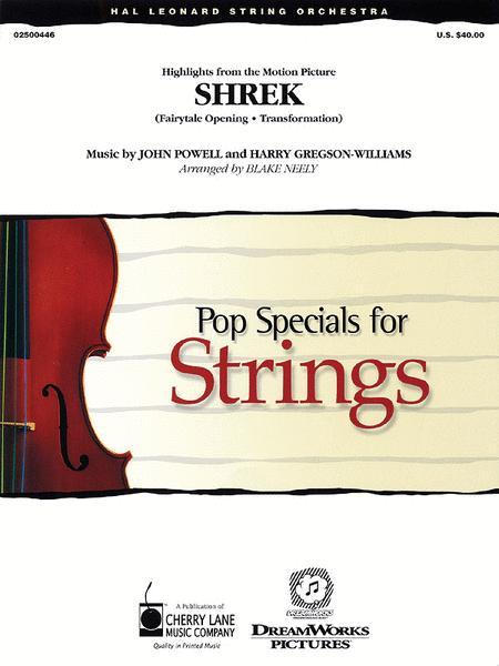 Music from Shrek
