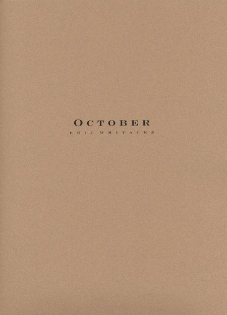 October - Score