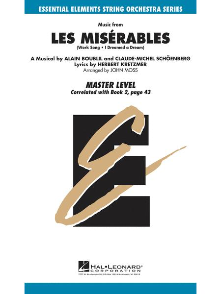 Music from Les Miserables